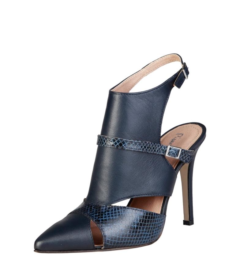 Laetitia 11cm azul Altura Pierre Laetitia Cardin 11cm Zapatos azul Pierre tacón Zapatos Cardin Pierre Altura tacón ZqXAwB7w