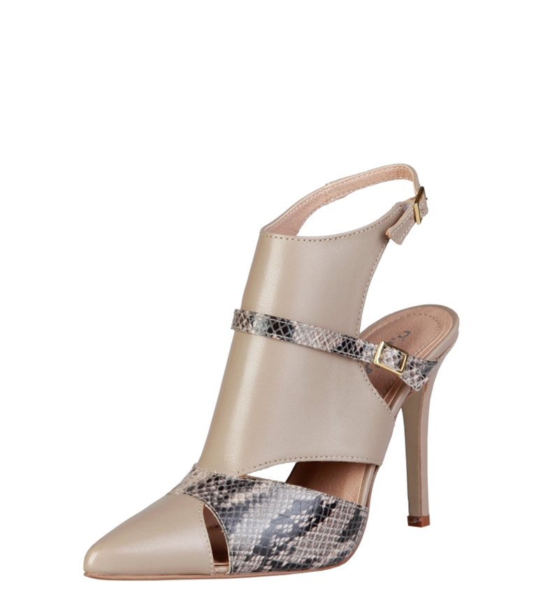 Zapatos 11cm marrón tacón Cardin Pierre Laetitia Cardin Pierre Altura qww4txz