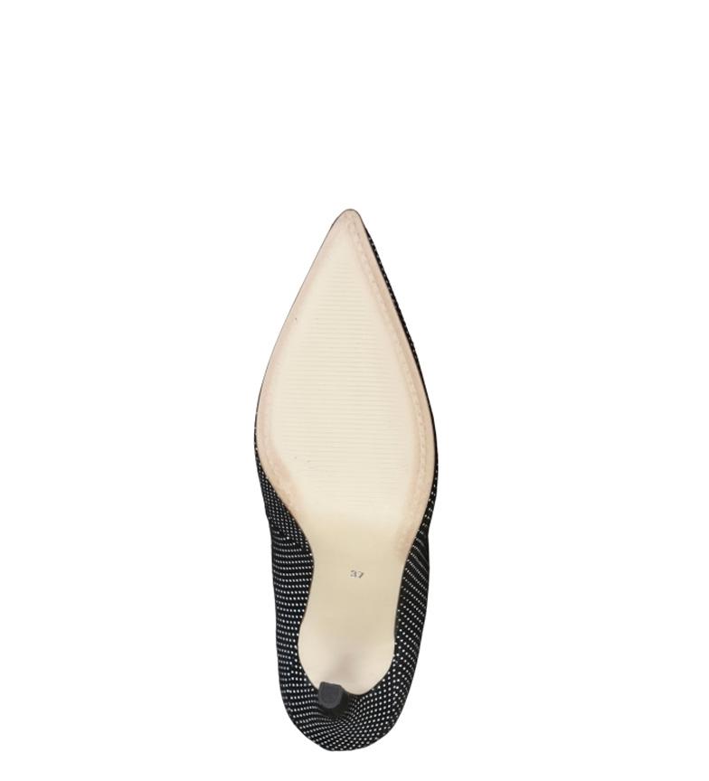 Lucile Altura tacón Cardin Pierre cm Zapatos 10 negro EwIT1qv