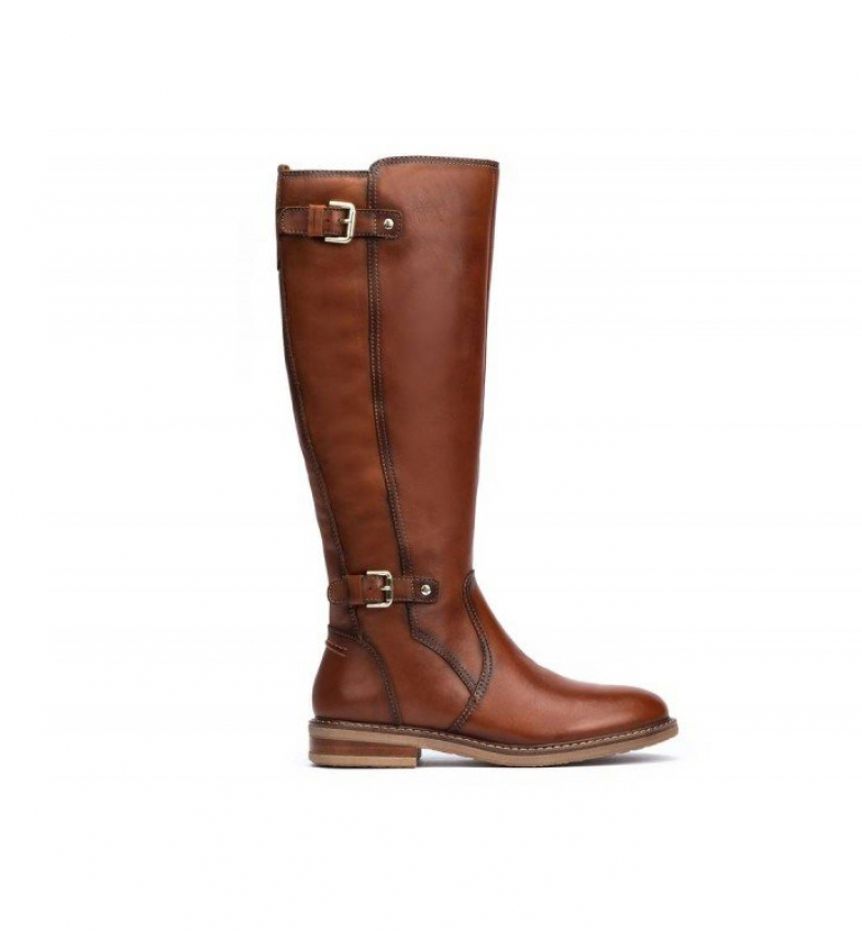 Pikolinos Aldaya botas de couro couro