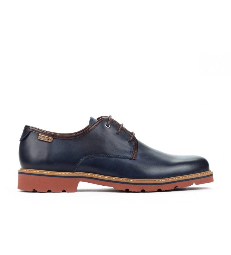 Comprar Pikolinos Sapatos de couro Bilbao M6E azul
