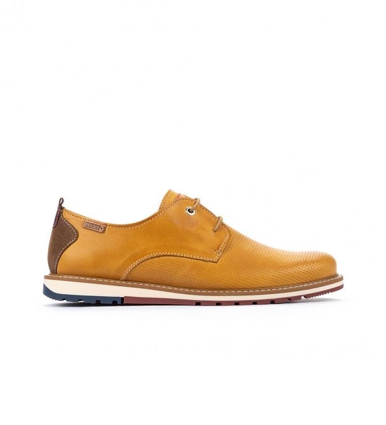 Comprar Pikolinos Zapatos de piel Berna M8J amarillo