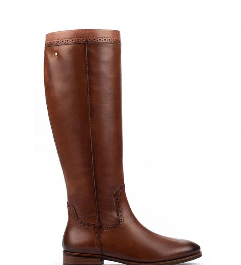 Comprar Pikolinos Botas de piel Royal W4D cuero -Altura tacón 3 cm-