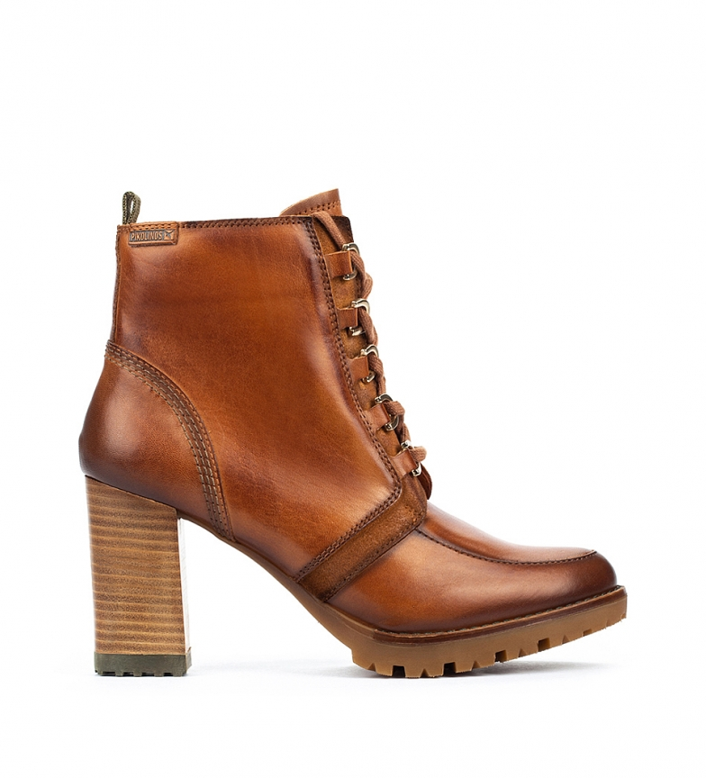 Comprar Pikolinos Connelly W7M botas de couro para tornozelo Connelly W7M - altura da roda 9 cm