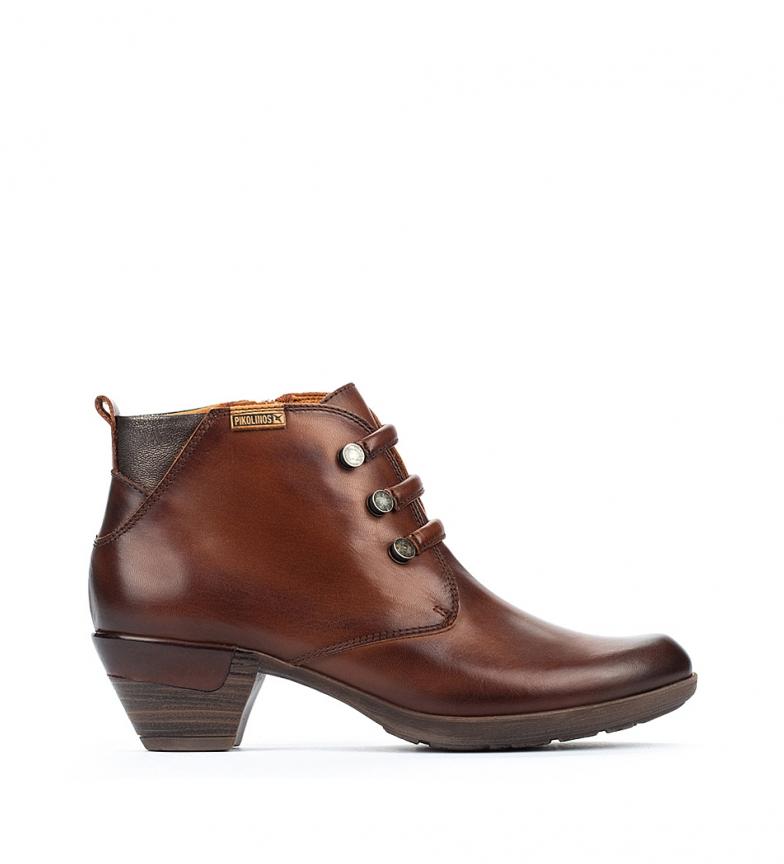 Comprar Pikolinos Botas de couro do tornozelo de Roterdão 902 couro -Altura do calcanhar 5 cm