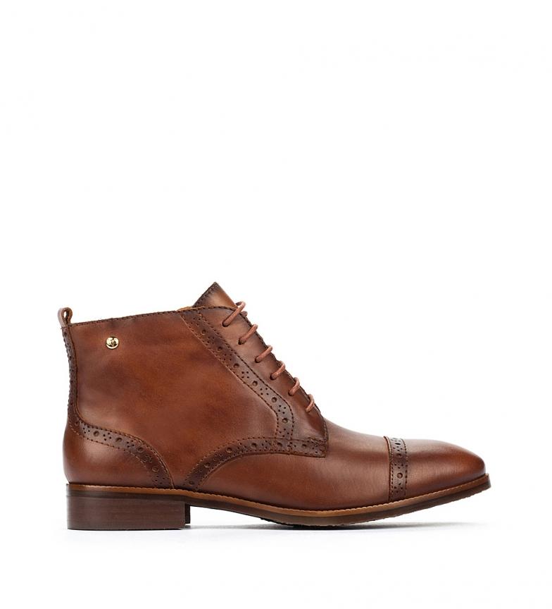 Comprar Pikolinos Royal W4D botas de couro para tornozelo - Altura do calcanhar 2,5 cm
