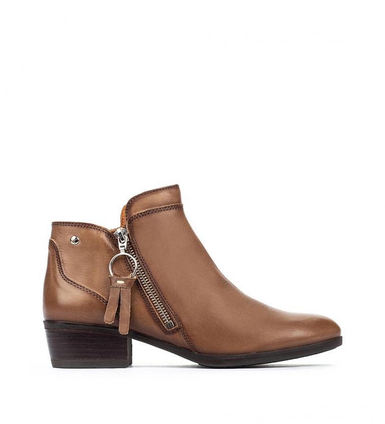 Comprar Pikolinos Botas de couro preto Daroca W1U - altura da roda 4 cm