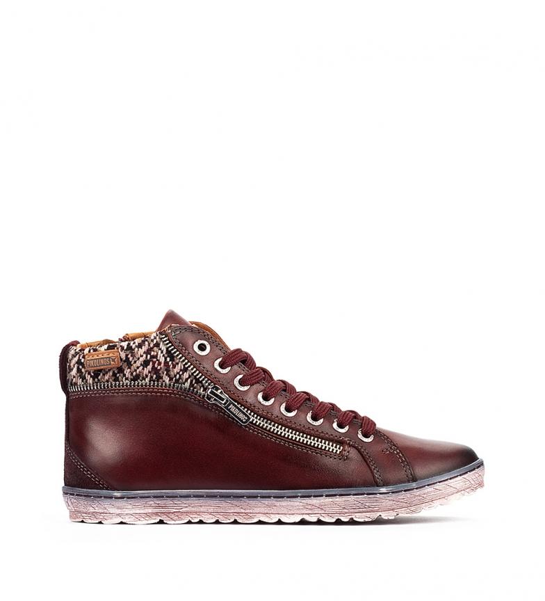 Comprar Pikolinos Lagos 901 botas de couro castanho no tornozelo