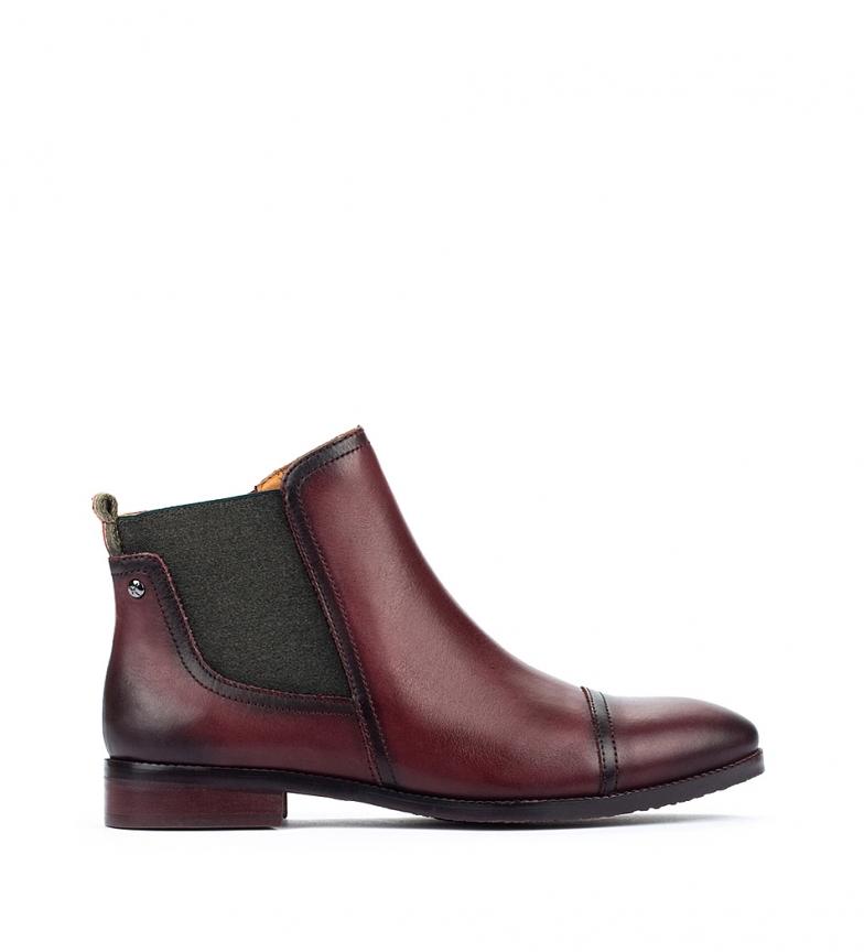 Comprar Pikolinos Botines de piel Royal W4D  marrón oscuro -Altura tacón 2,5 cm-