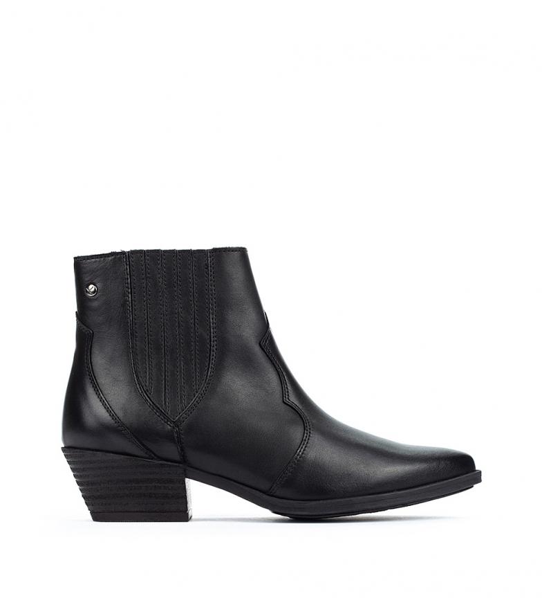 Comprar Pikolinos Vergel W5Z botas de couro para tornozelo preto - altura da roda 4,6 cm