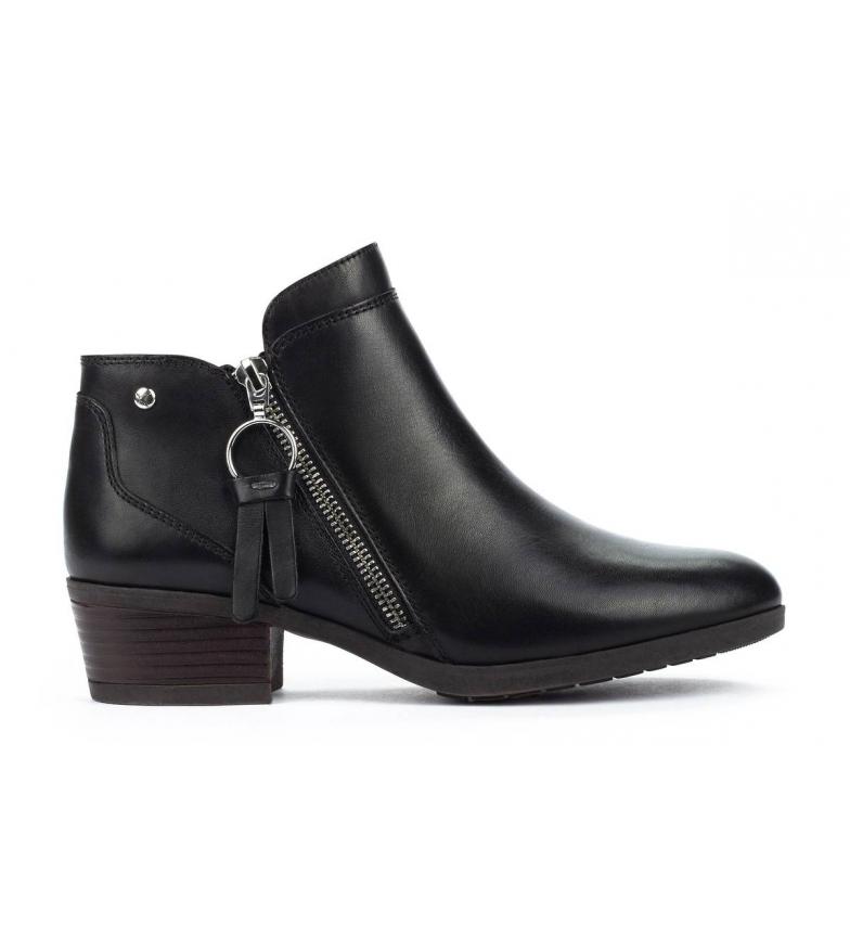 Comprar Pikolinos Daroca W1U bottes en cuir noir - hauteur talon : 4cm