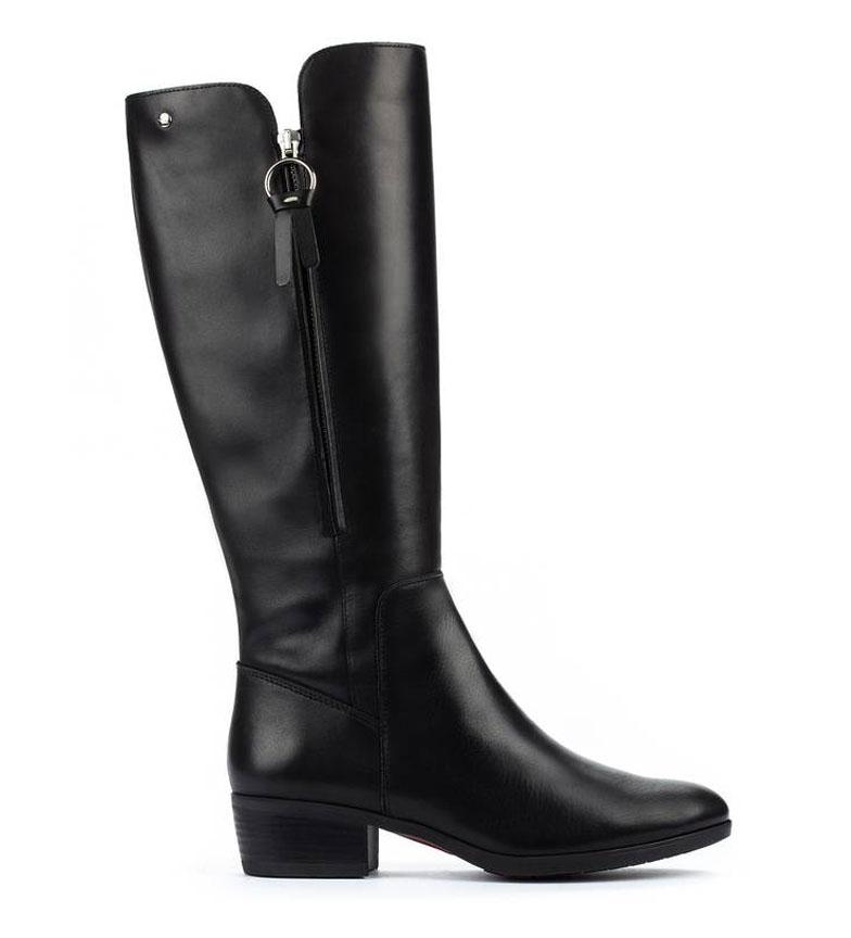 Comprar Pikolinos Daroca W1U leather boots black -heel height: 4cm