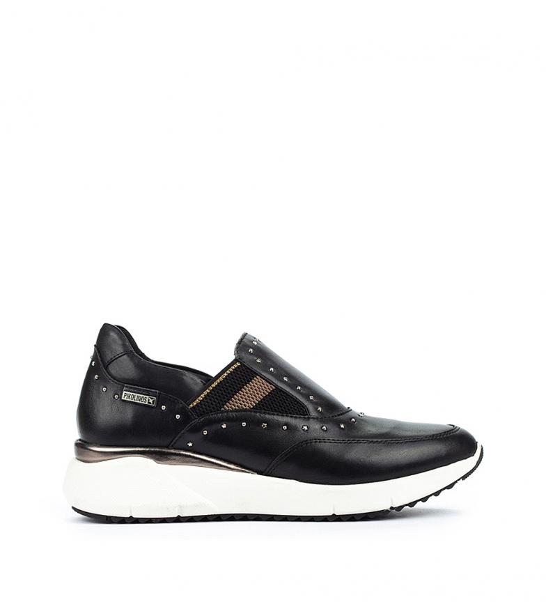 Comprar Pikolinos Chaussures en cuir Sella W6Z noir - Hauteur de la cale : 4,3 cm