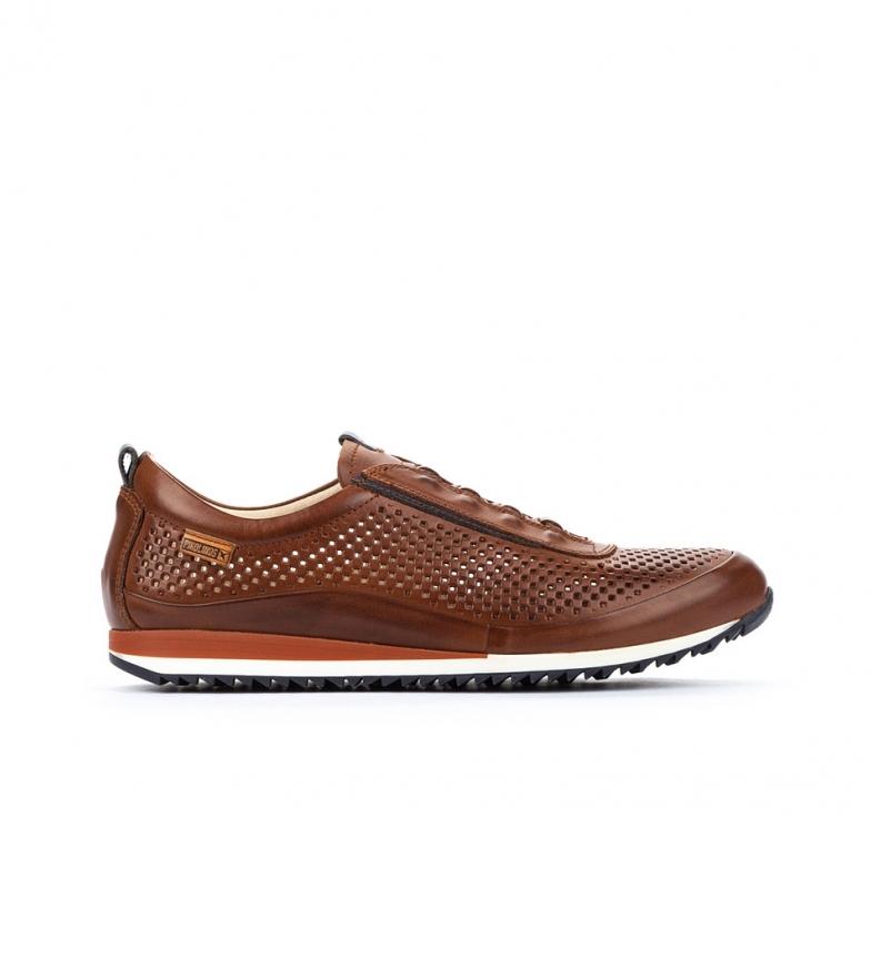 Comprar Pikolinos Zapatillas de piel Liverpool M2A marrón