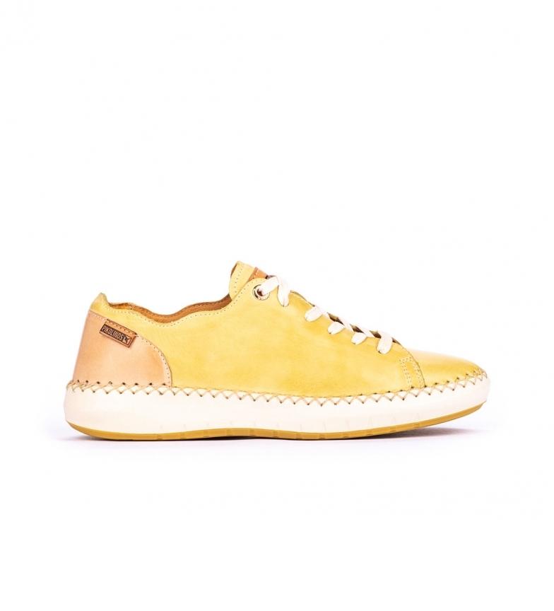 Pikolinos Scarpe in pelle Messina W6B giallo