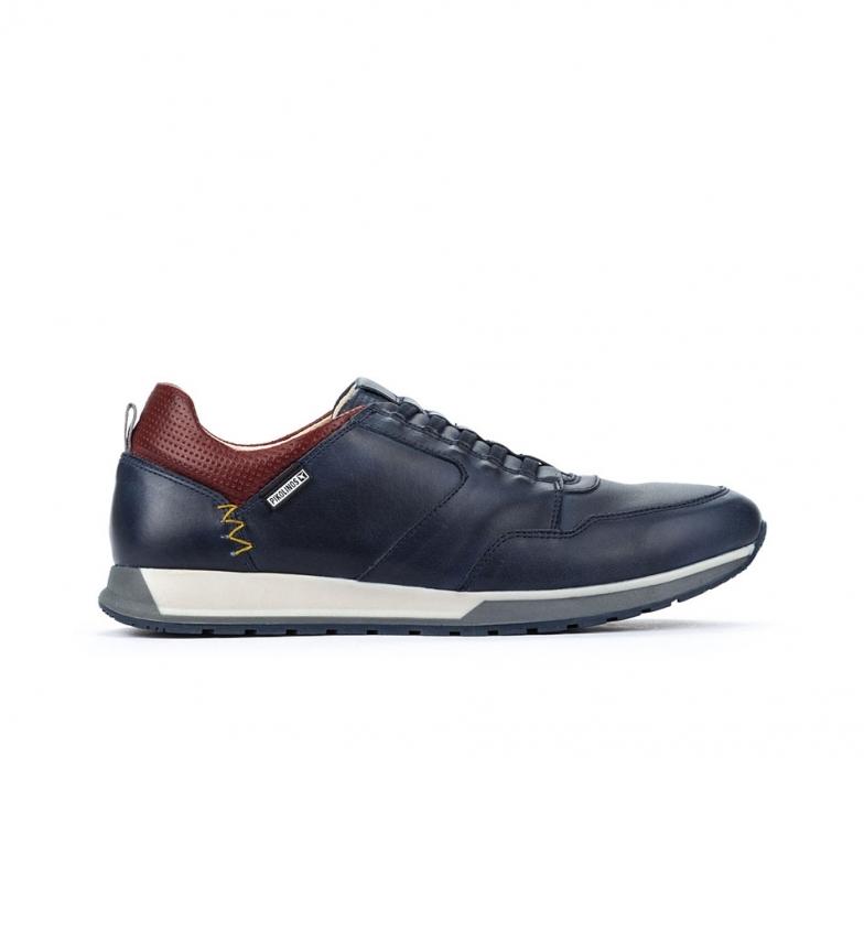 Comprar Pikolinos Sapatos de couro Cambil M5N azul