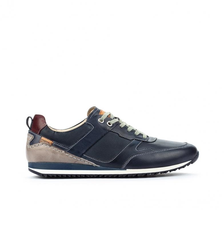 Comprar Pikolinos Liverpool M2A chaussures en cuir bleu