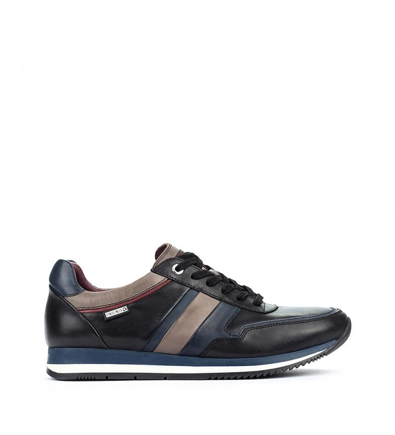 Comprar Pikolinos Sapatos de couro Palermo M3H preto