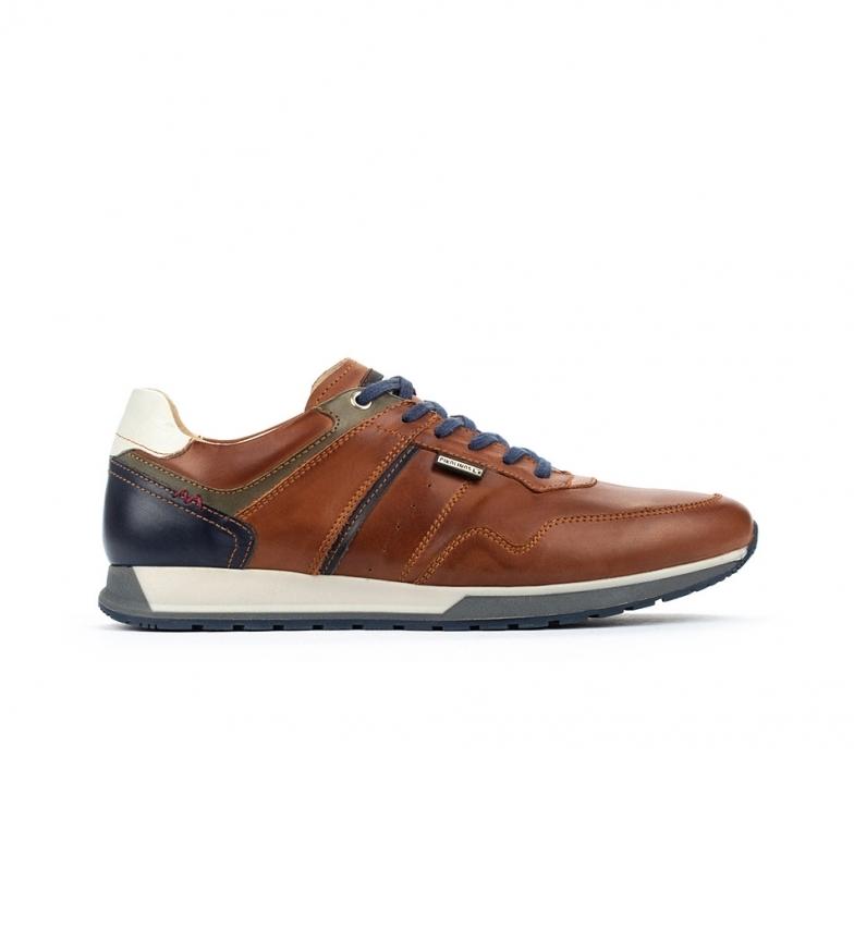 Comprar Pikolinos Sapatos de couro Cambil M5N castanho