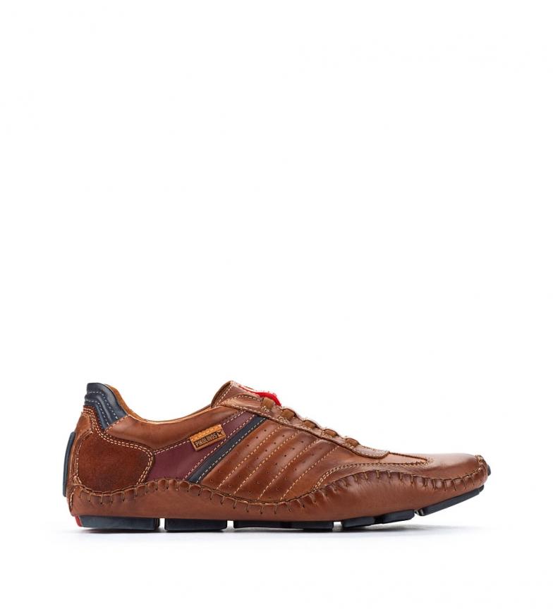 Comprar Pikolinos Zapatillas de piel Fuencarral 15A marrón