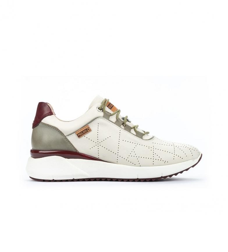 Comprar Pikolinos Sapatos de couro Sella W6Z branco, verde
