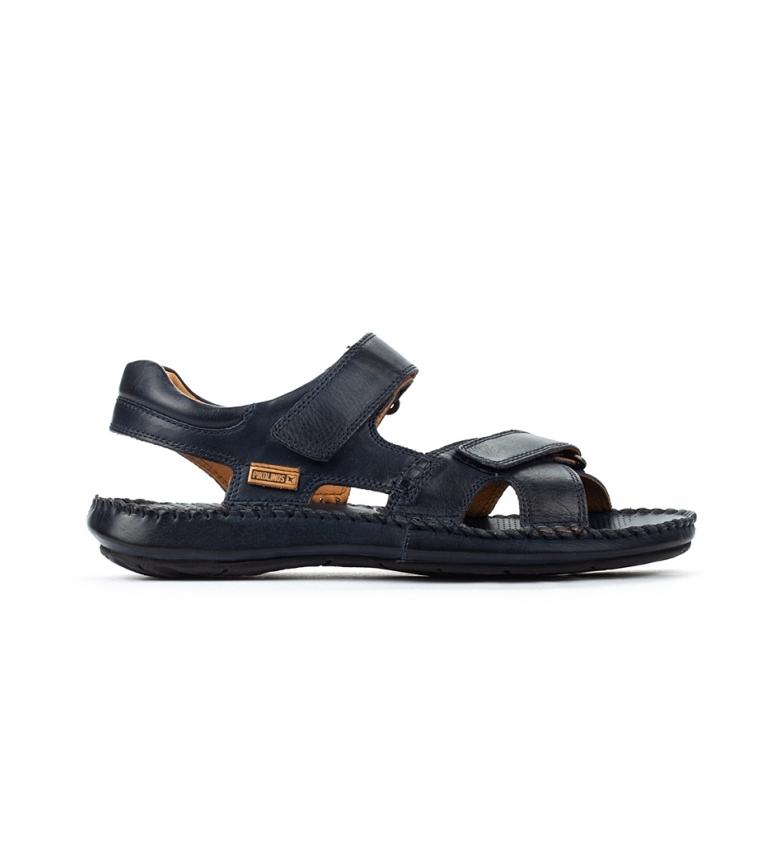 Comprar Pikolinos Leather sandal Tarifa 06J navy blue
