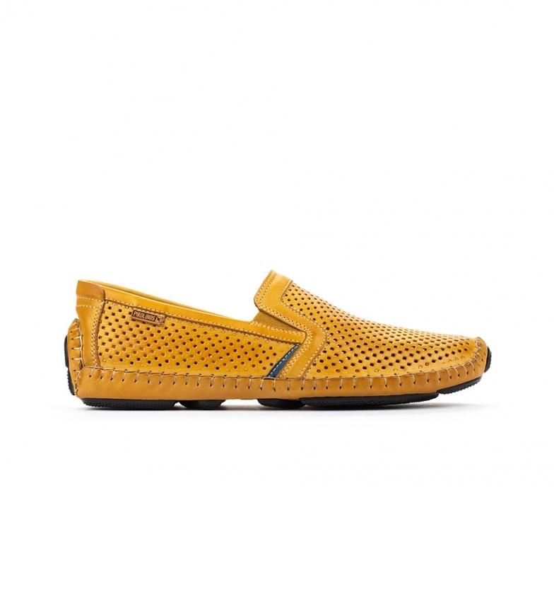 Comprar Pikolinos Zapatos de piel Jerez 09Z amarillo