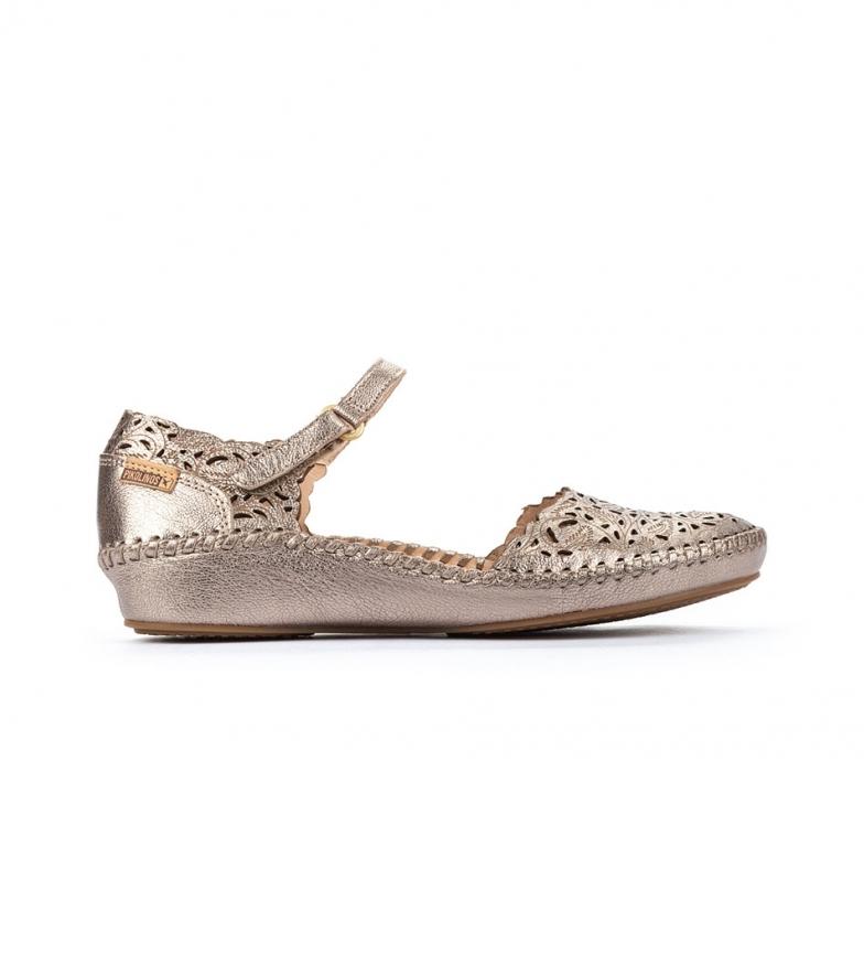 Comprar Pikolinos Sandale en cuir P. Vallarta 655-0906CL argent