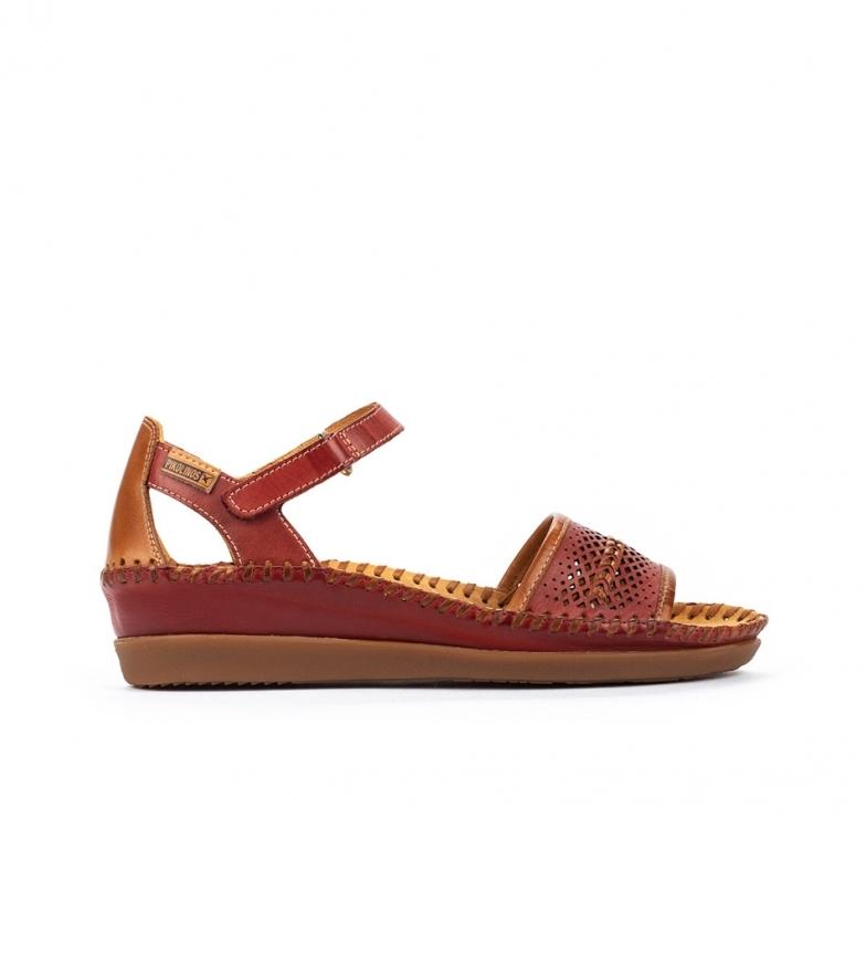 Comprar Pikolinos Sandálias de couro Cadaques W8K vermelho