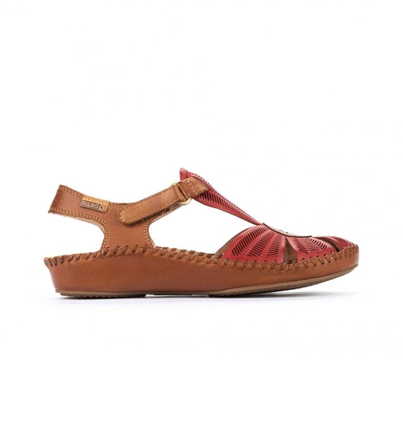 Comprar Pikolinos Sandálias de couro P. Vallarta 655-0575 coral