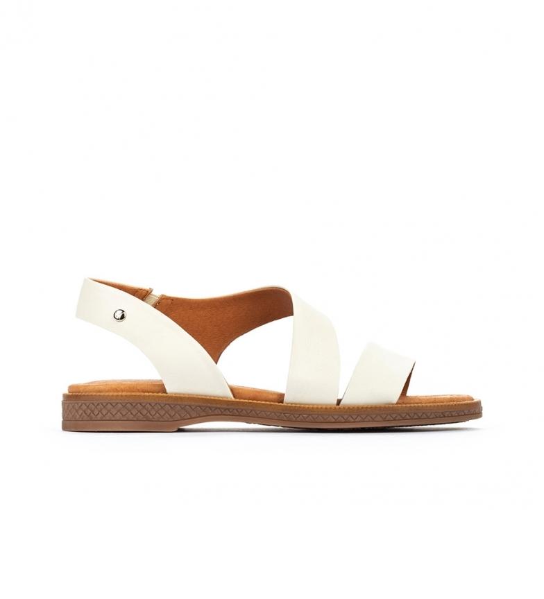Comprar Pikolinos Sandali in pelle Moraira W4E bianchi
