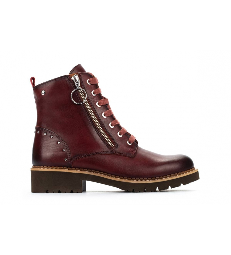 Comprar Pikolinos Leather boots Vicar W0V clay