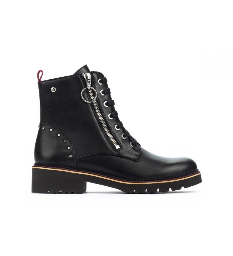 Comprar Pikolinos Leather boots Vicar W0V black