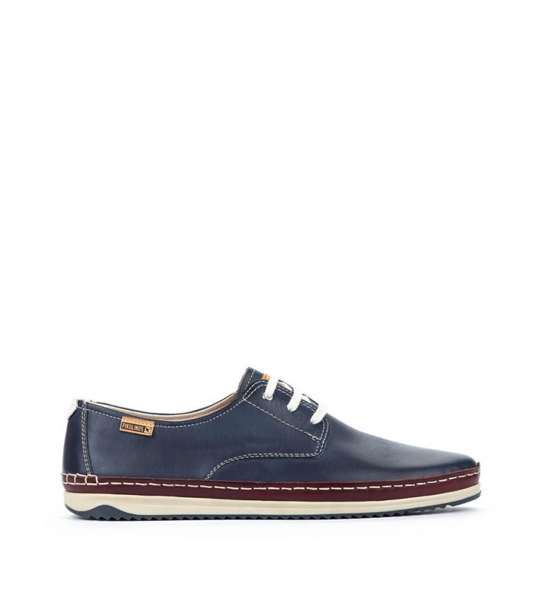 Comprar Pikolinos Chaussures en cuir Motril M1N bleu