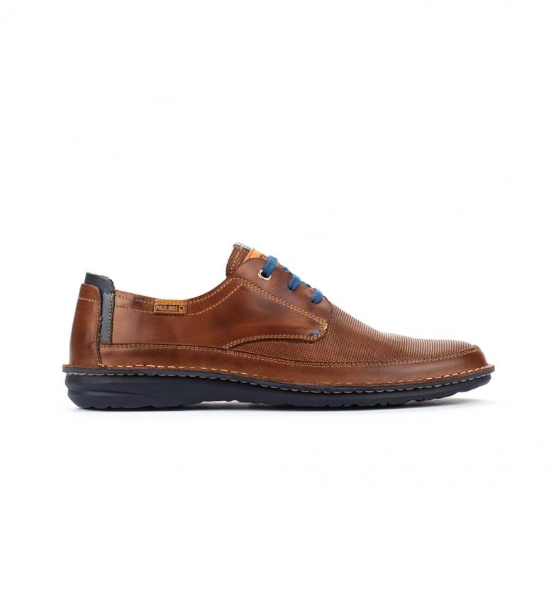 Comprar Pikolinos Zapatos de piel Santiago M8M marrón