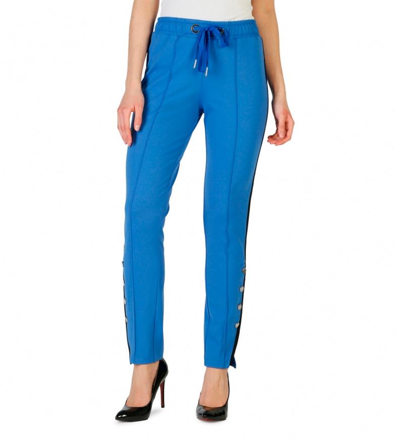 Pinko 6769 Azul 1g12yp Pinko Pantalones Ybf6Ig7yv