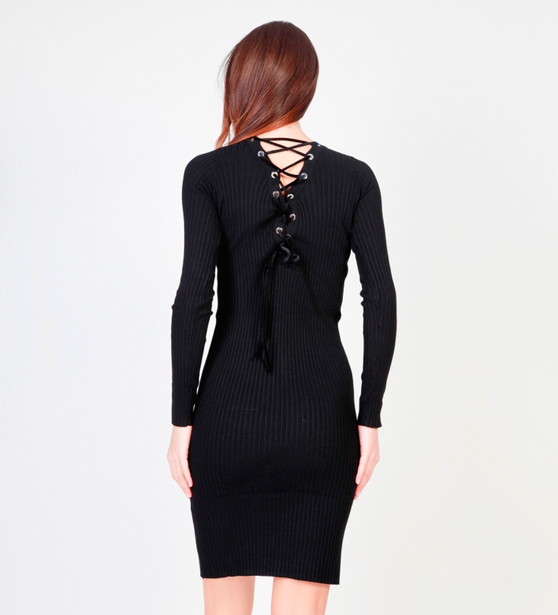 Pinko Vestido Sabrina negro
