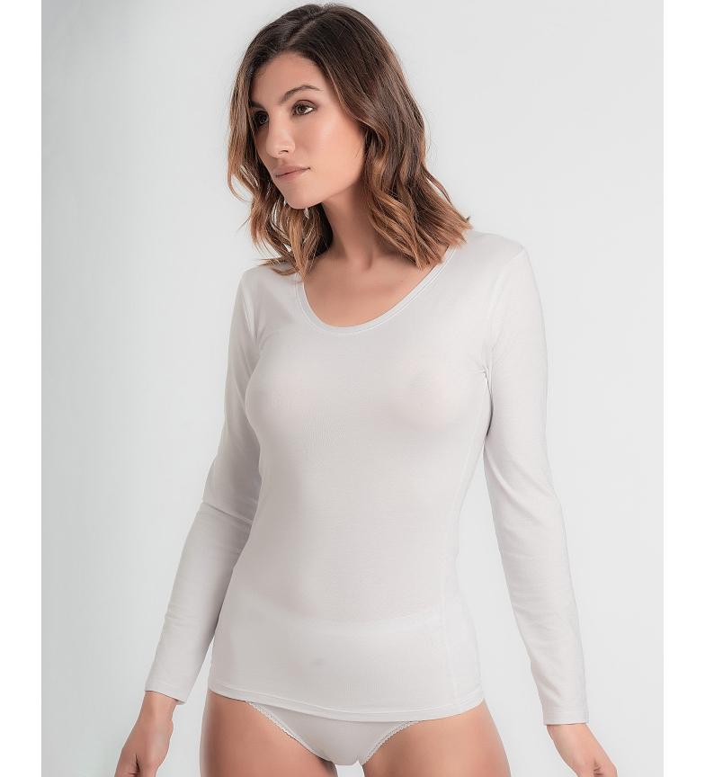 Playtex Camisa térmica Princesa Termaltech branca