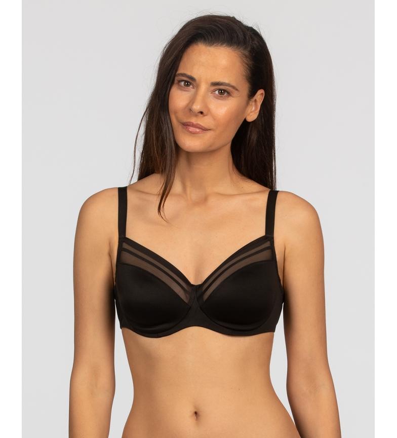 Comprar Playtex Myrofibre underwired bra black