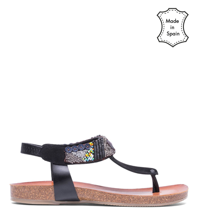 Comprar porronet Sandali in pelle marrone Dakota