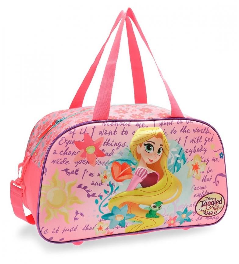 Comprar Princesas Rapunzel 3D front travel bag -44x25x22cm-