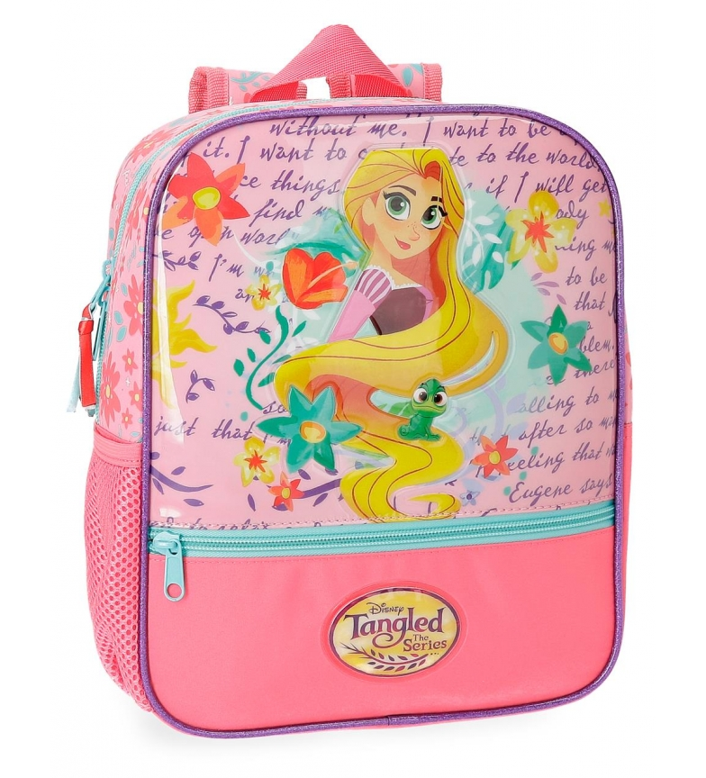 Comprar Princesas Rapunzel Preschool backpack adaptable to car -23x28x10cm-