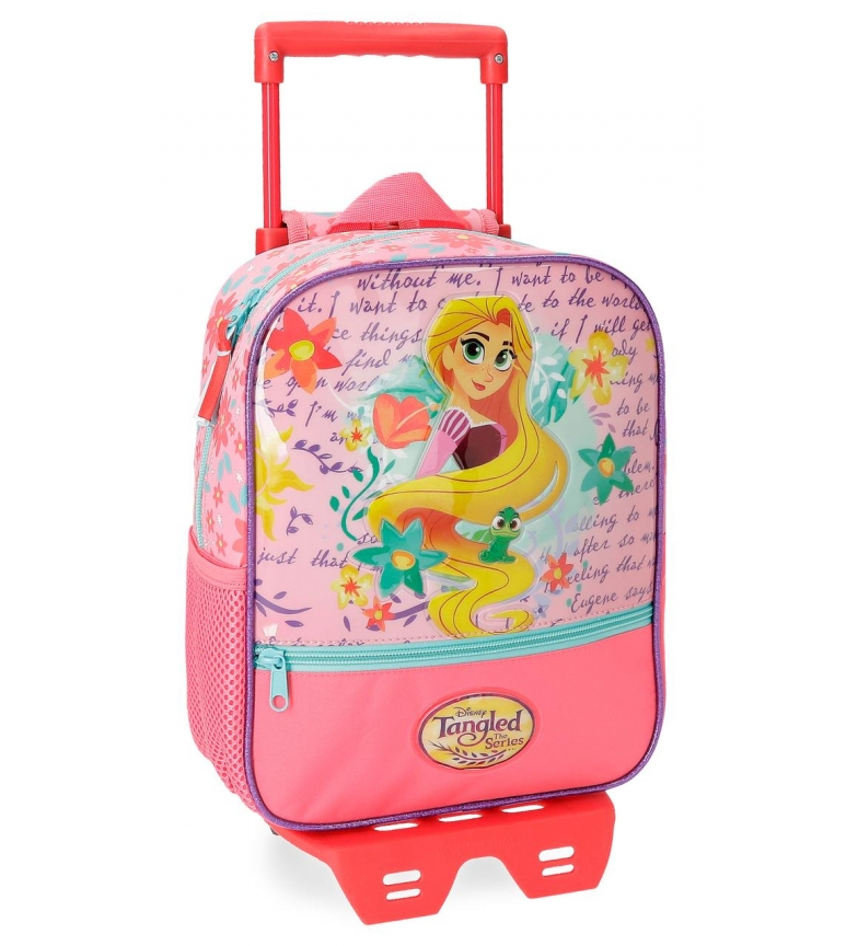 Comprar Princesas Rapunzel Preschool Backpack with trolley -23x28x10cm-