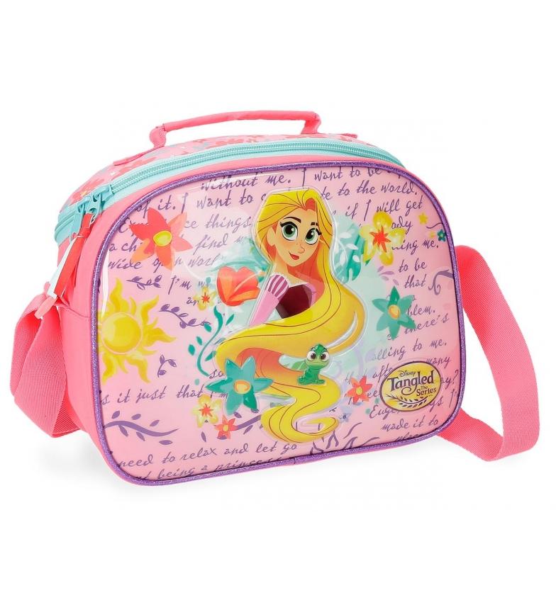 Comprar Princesas Rapunzel bag adaptable to trolley with shoulder strap -25x19x15cm-