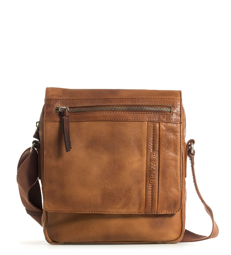 Comprar Privata Napa leather shoulder strap Spray brown<font color=#38B0DE>-==- Proudly Presents