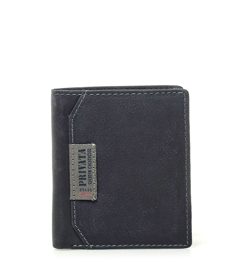 Comprar Privata Carteira de couro Blue Label -10x8,5cm-