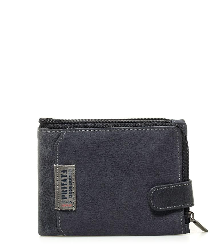 Comprar Privata Blue Label leather wallet -8,5x12cm-