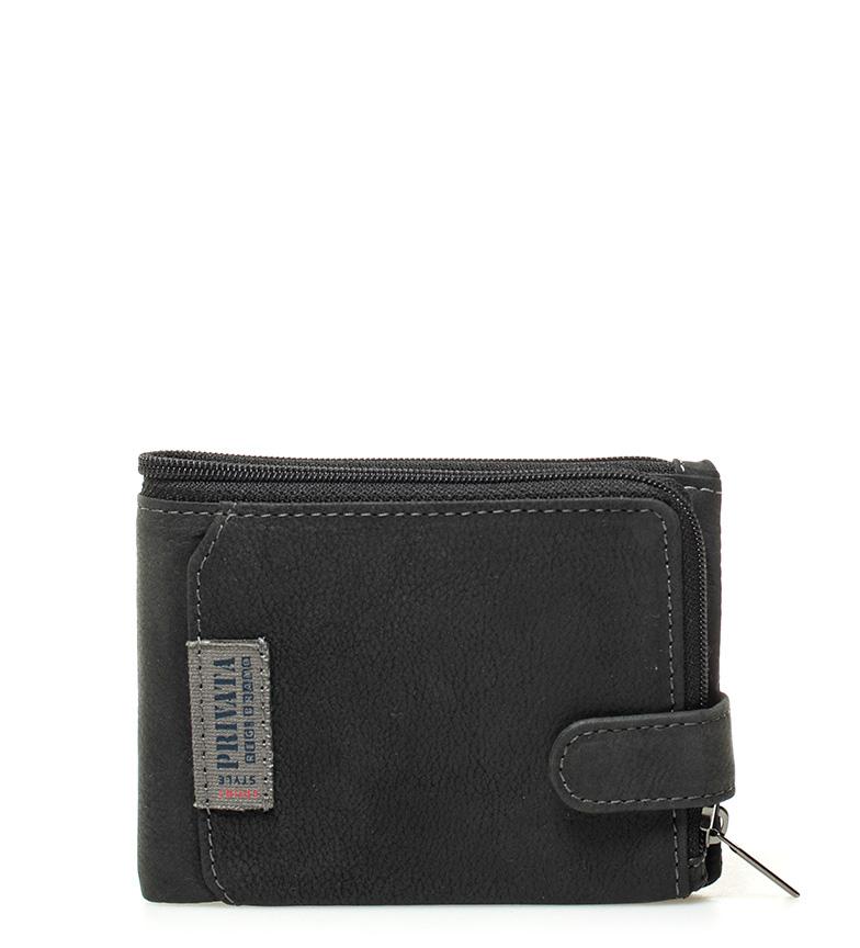 Comprar Privata Carteira de couro Black Label -8,5x12cm-
