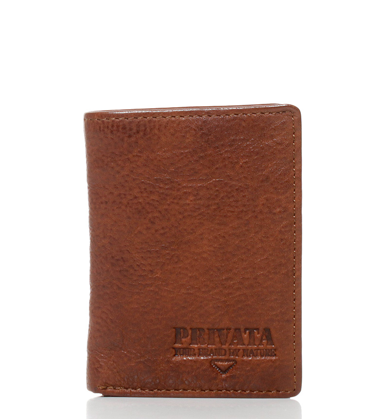 Comprar Privata Leather wallet Lava leather-11x8 cm-