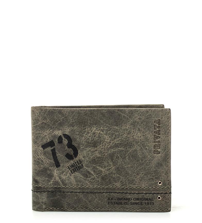 Comprar Privata Portafoglio in pelle Teen kaki -8x10,5cm-